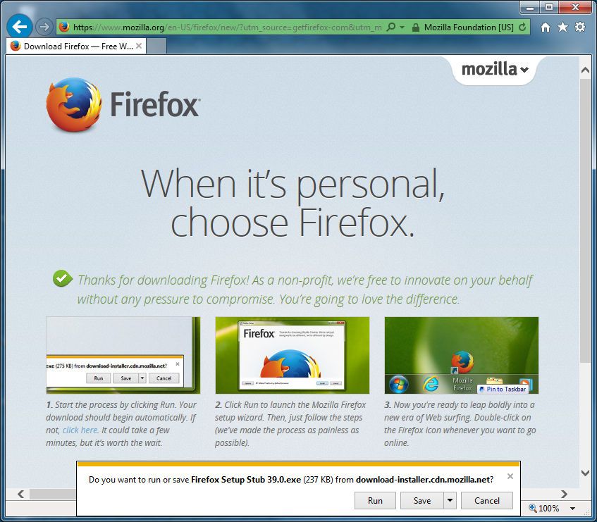 install firefox for windows